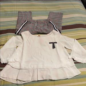 Toddler Girls Pant Set. NWT!